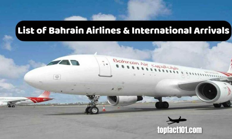 List of Bahrain Airlines
