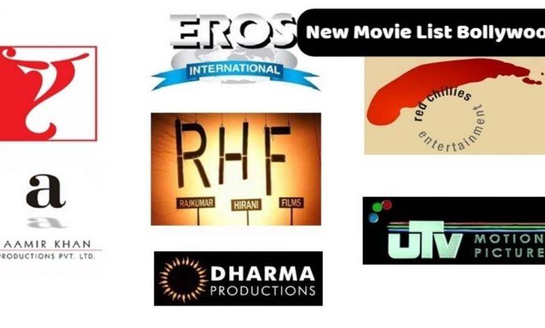 New Movie List Bollywood
