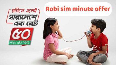 Robi minute offer